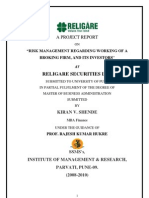 Project on Religare