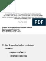 Método de valoração- apresentação Ocimar