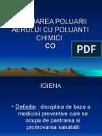 Evaluarea Poluarii Aerului Cu Co