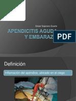 Apendicitis en Gestacion