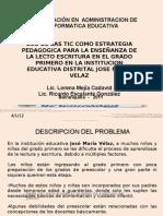 Presentacion Proyecto Con Tics