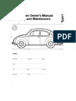 Manual Volkswagen Escarabajo 1973
