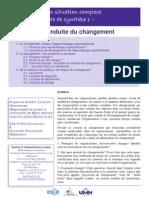 Note 1 Conduite Changement