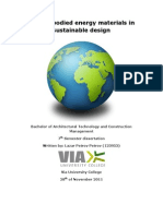 Low Embodied Energy Materials in Sustainable Design by Lazar Petrov