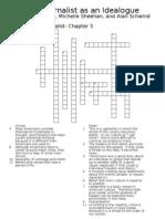 Ideologue Crossword