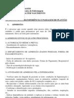 ADMISSÃO DO PACIENTE aula de valten