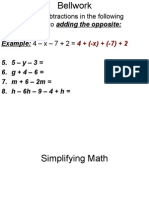 Simplifying Math2