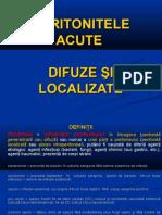 Peritonitele Acute