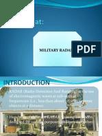 Slides on Military Radars