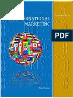 International Marketing-Assignment No. 01