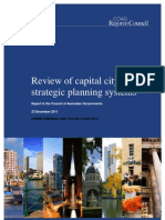 Review of Capital City Strategic Planning Systems