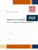 IDEO - Aligned for Sustainable Design
