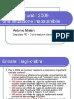 Bilanci comunali 2009