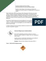 Clasificación de susatancias químicas