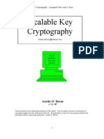 Scalable Key Cryptography