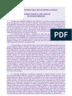 Contextualización del relato en la Historia española