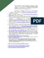 Relatório Aspecto Legal na emissão da  Declaração de Óbito