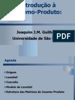 GUILHOTO, J. Introdução a análise insumo-produto.
