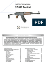 Instruction Manual CZ 858 TACTICAL