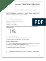 Trabajo Práctico Lógica Proposicional Parte I