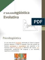 Psicolingüística Evolutiva