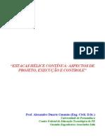 05 - Estacas Hélice Contínua - Aspectos de Projeto, Execução e Controle