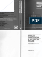 Human Dimension & Interior Space (by Julius Panero and Martin Zelnik) - Ergonomia e Antropometria