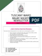 April 2012 RS Newsletter