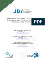Lineamientos Pedagogicos Cursos Virtuales UDI