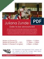 Zunde Flyer 2012