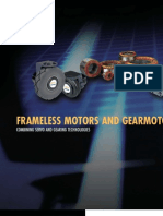 07 Frameless Motors & Gear Motors