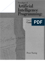 Paradigms of Artificial Intelligence Programming Case Studies in Common Lisp