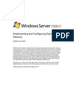 Implementing and Configuring Dynamic Memory