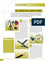 MONTAR CABLES DE AUDIO Y VÍDEO