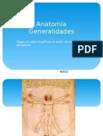 Anatomia - Generalidades