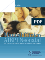 Manual Del Facilitador de AIEPI