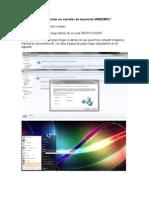 Como montar un servidor de impresión WINDOWS 7