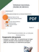 Contraindicaciones de La Cirugia Periodontal Patito