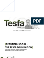 Beautiful Social - The Tesfa Foundation