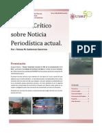 Analisis de Noticia _ Realidad Nacional