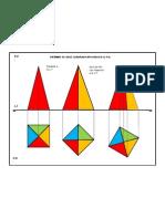 Proyecciones ortogonales (pirámide)