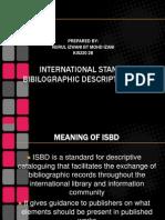 International Standard Bi Bi Lo Graphic Description (Isbd)