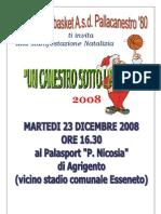 Un Canestro Sotto l'Albero 2008