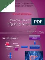 Anatomia Funcional Del Higado y Anestesia