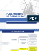 FUNDAMENTOS DE SOLDADURA