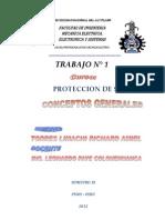 CONCEPTOS GENERALES DE SISTEMAS DE PROTECCION