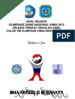 Soal Seleksi Tingkat Sekolah 2012