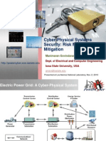 Cyber-Physical Systems Security Risk Modeling and Mitigation