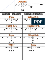 Lincoln JV - Flexbone Formations '10-'11