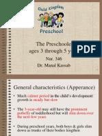 7. the Preschooler